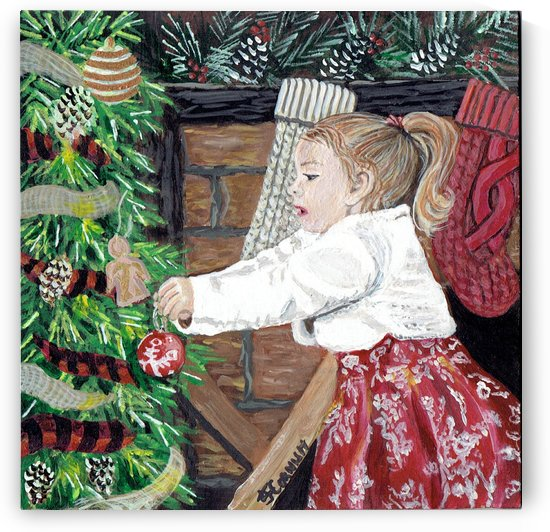 Dressed for Christmas by Janis Cornish