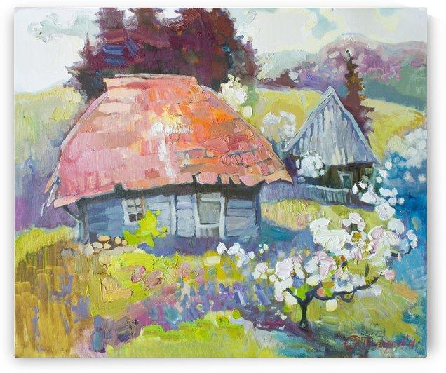 Spring hut of Elf by Anastasiia Grygorieva
