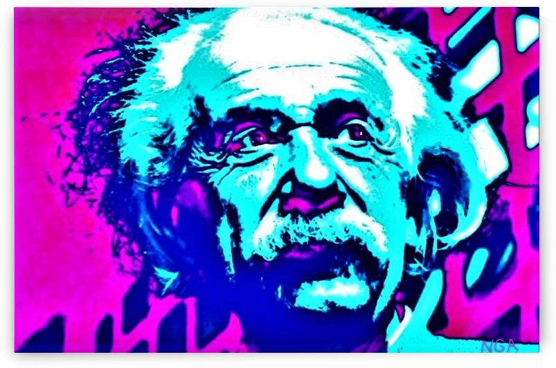 Albert Einstein - by Neil Gairn Adams by Neil Gairn Adams