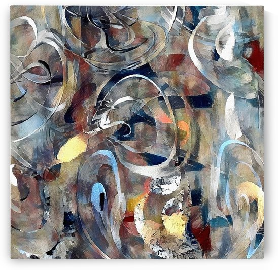 Abstract Canvas by Bruce Rolff