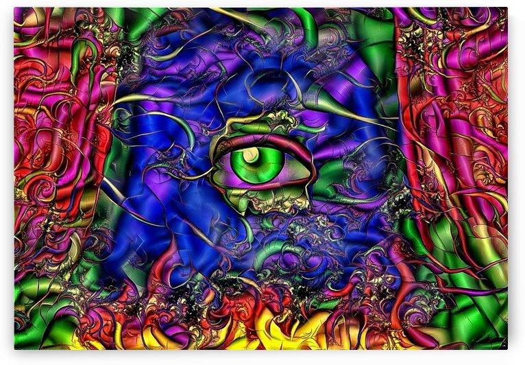 Green Eye by Bruce Rolff