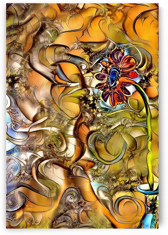 Abstract Flower by Bruce Rolff