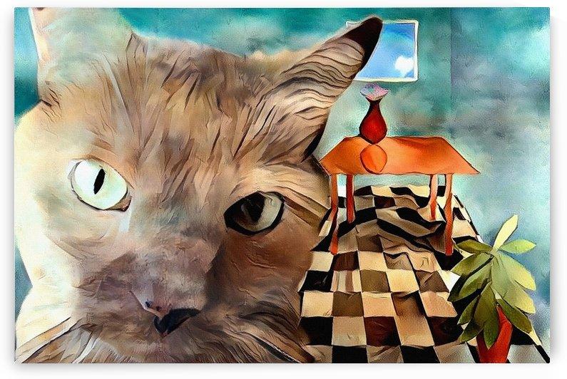 Beige Cat by Bruce Rolff