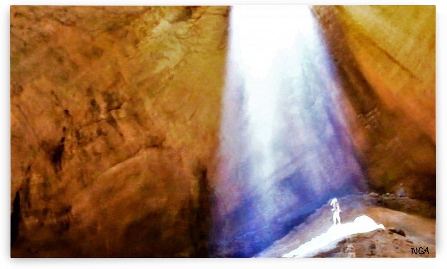 Alien in the Cave - by Neil Gairn Adams by Neil Gairn Adams