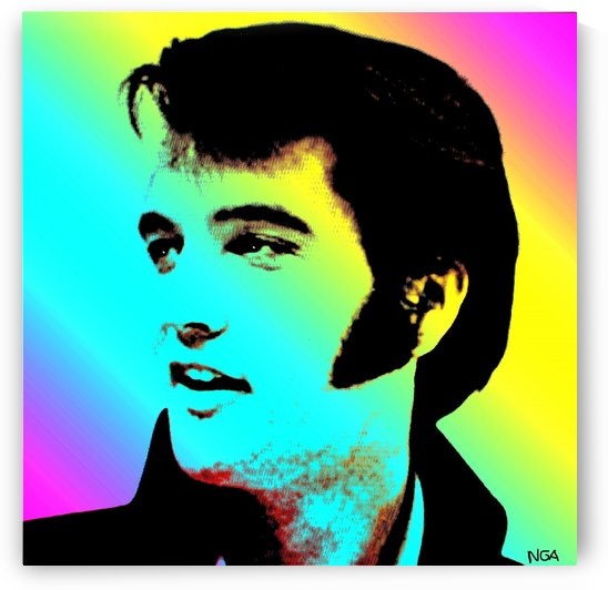 Elvis Presley -  by Neil Gairn Adams by Neil Gairn Adams