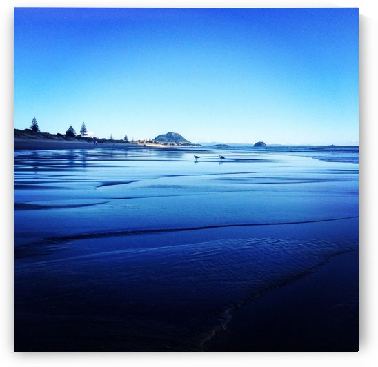 Papamoa Beach by Suzanne Morgan