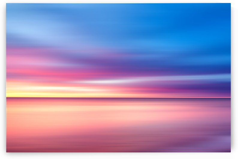 Abstract Sunset V by Art Design Works