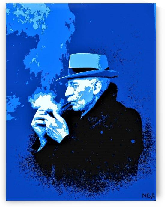 The Smoker -  by Neil Gairn Adams by Neil Gairn Adams