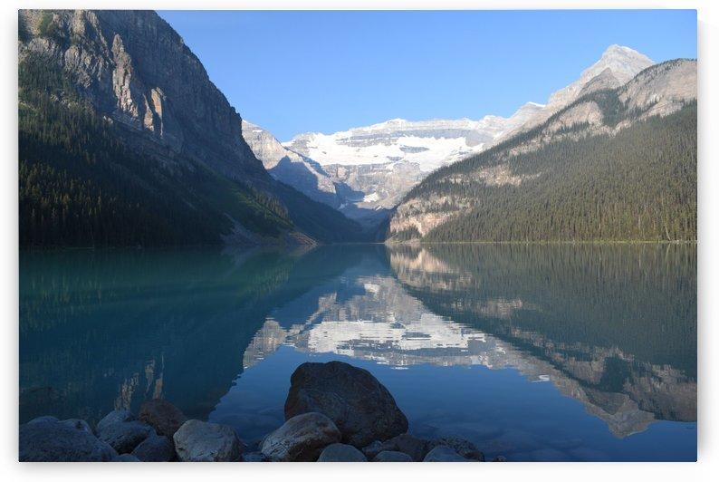 Lake Louise Canada by Senthia Sanders