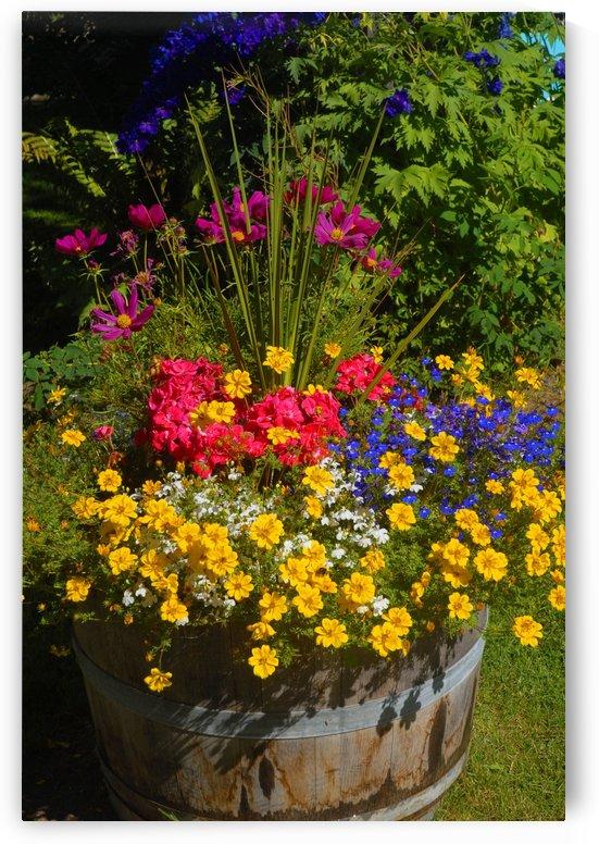 Barrel Bouquet by Senthia Sanders