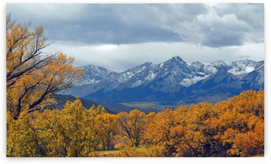 Mountains In The Fall by Senthia Sanders