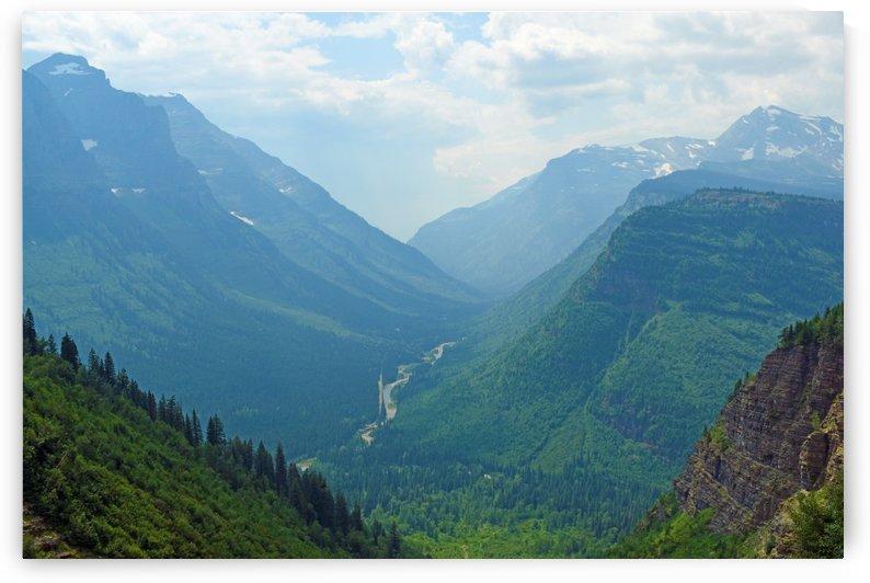 Logan Pass Glacier Park by Senthia Sanders