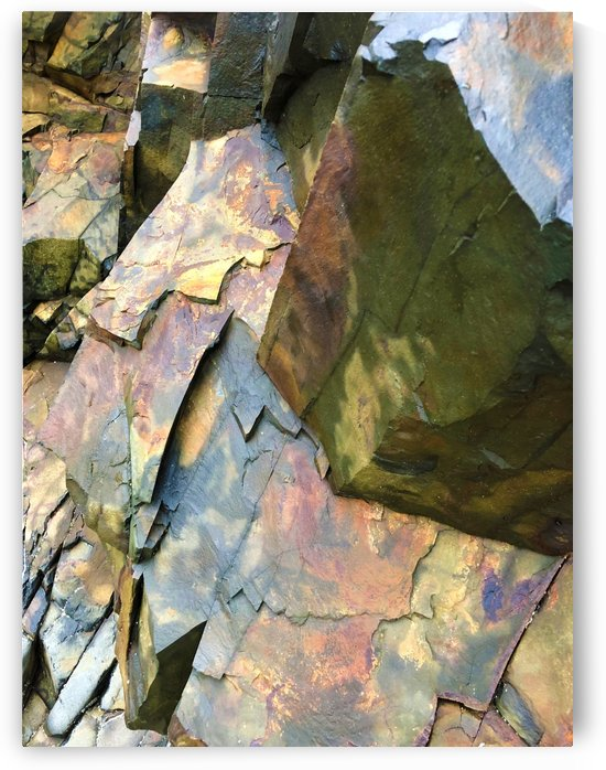 Colorful Slate by Senthia Sanders