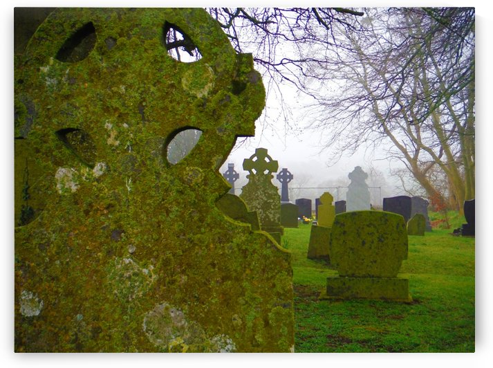 Irish Cemetery by Senthia Sanders
