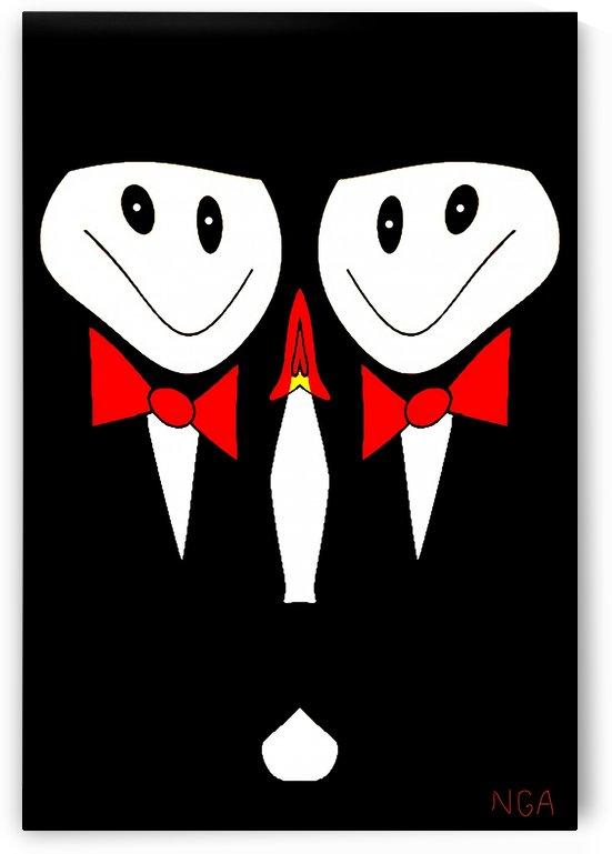 Red Tie Event - by Neil Gairn Adams by Neil Gairn Adams
