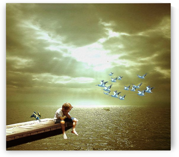 FEEL SAD by khaled Aljaber