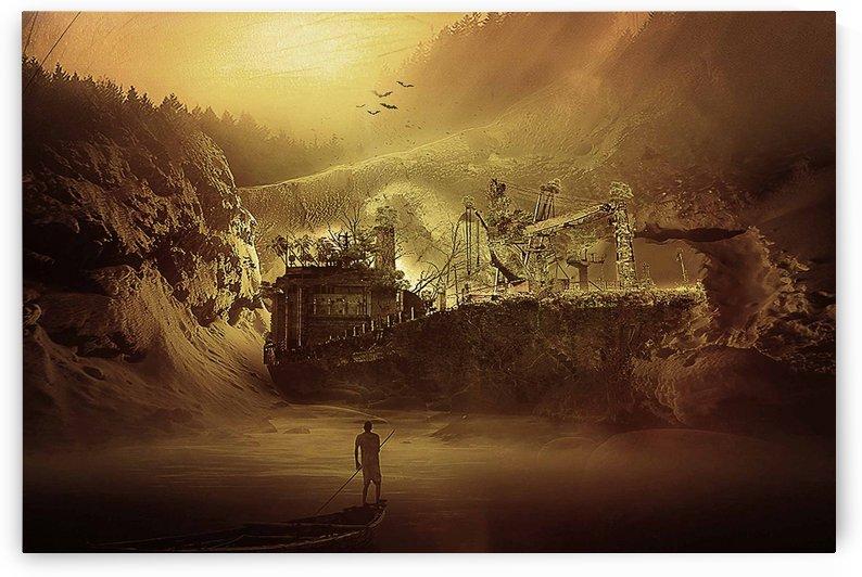 Lost ship by khaled Aljaber