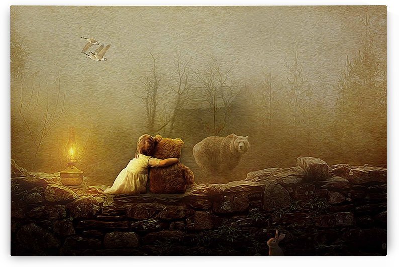 Bonjour bear by khaled Aljaber