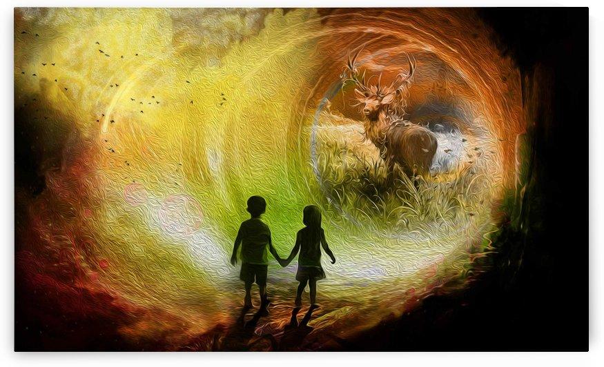 chirld dream 2 by khaled Aljaber