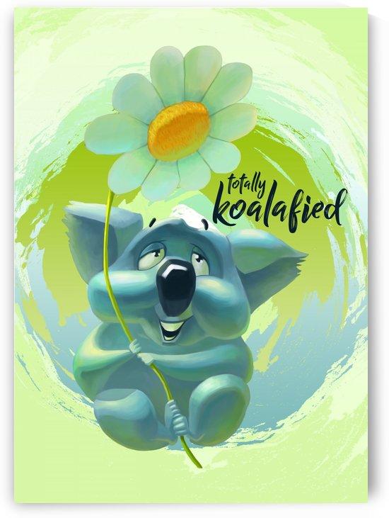 Cute Koala by Adi Daniel Antone