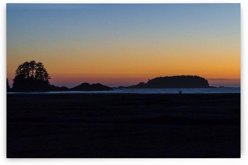 Sunset at Chesterman Beach by Bob Corson