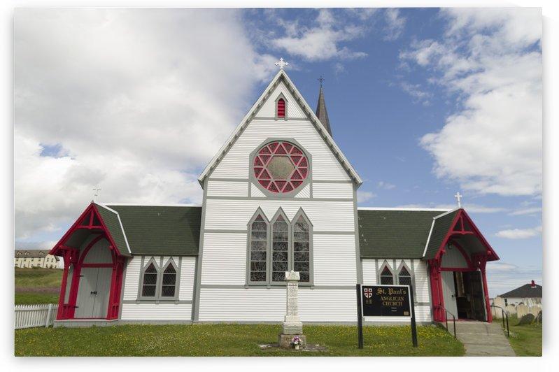 St. Pauls Anglican Church 2 by Bob Corson