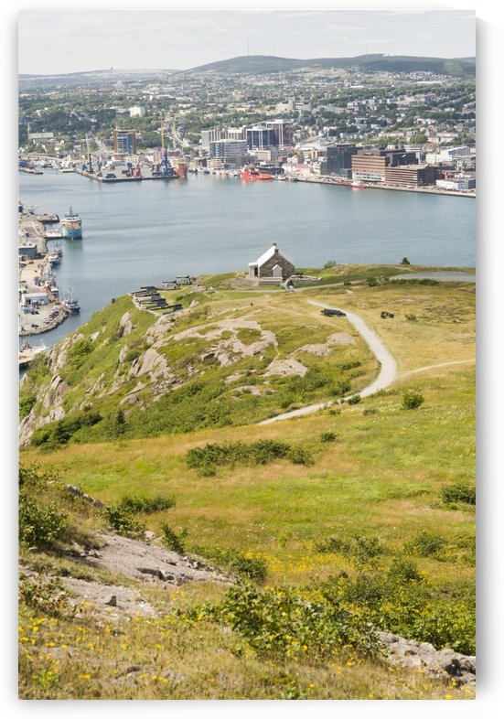 The Queens Battery and the Harbour 1 by Bob Corson