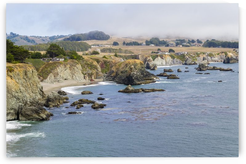 Bodega Bay 5 by Bob Corson