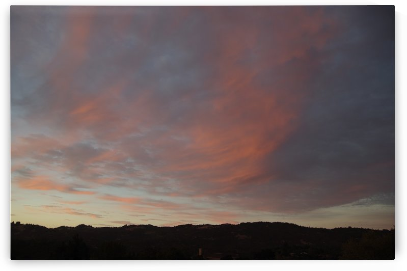 Santa Rosa Sunset 6 by Bob Corson