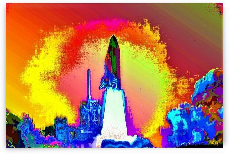 Lift Off -  by Neil Gairn Adams  by Neil Gairn Adams