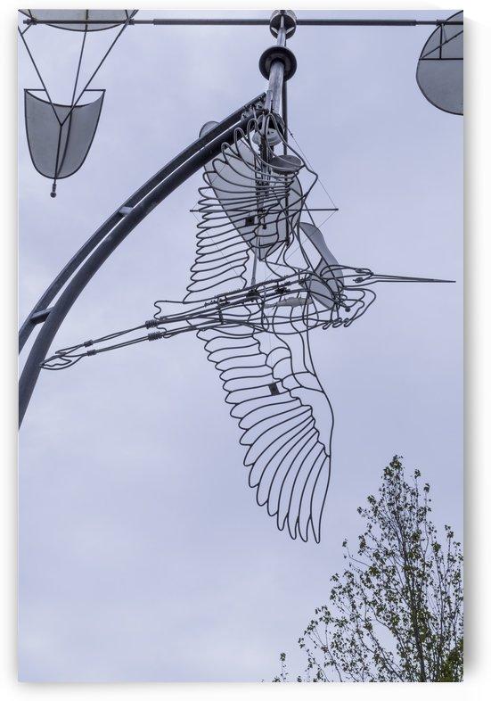 Heron Sculpture 3 by Bob Corson