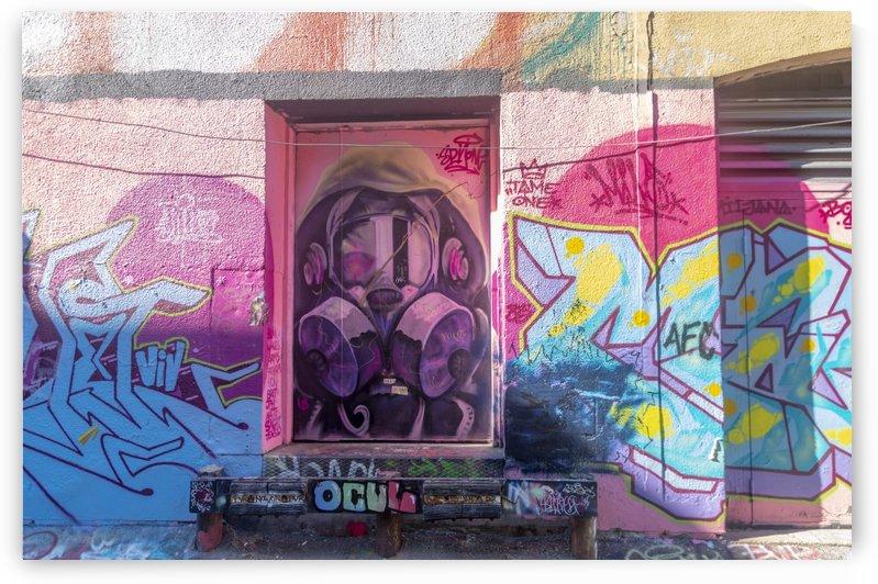 Torontos Graffiti Alley  6 by Bob Corson