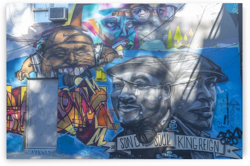 Torontos Graffiti Alley  29 by Bob Corson