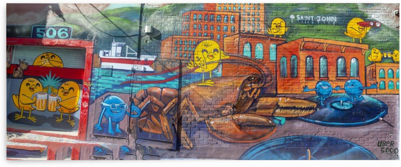 Graffiti Alley 54 by Bob Corson