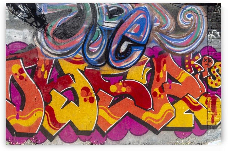 Torontos Graffiti Alley  33 by Bob Corson
