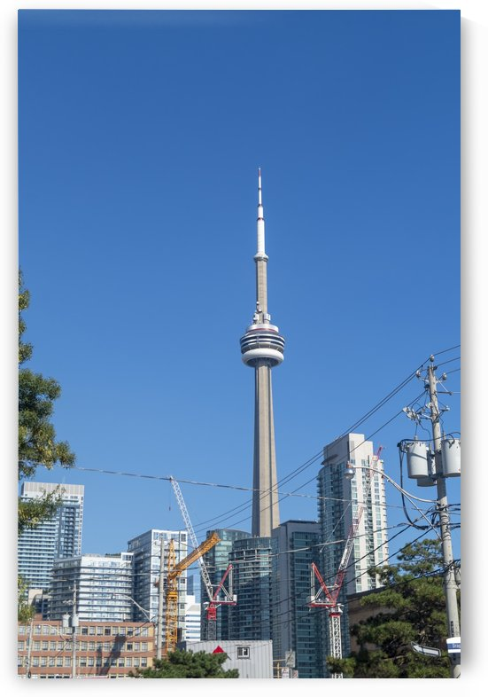 Toronto Skyline by Bob Corson