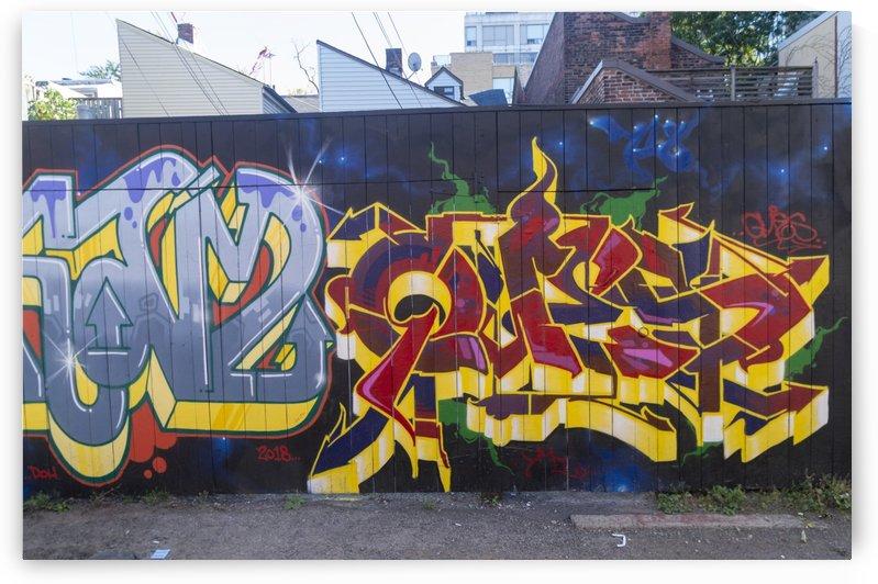 Torontos Graffiti Alley  10 by Bob Corson