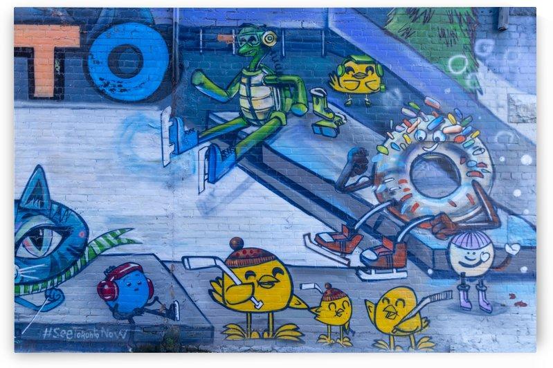Torontos Graffiti Alley  53 by Bob Corson