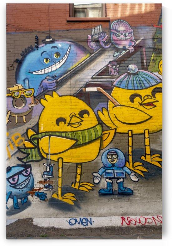 Torontos Graffiti Alley 44 by Bob Corson