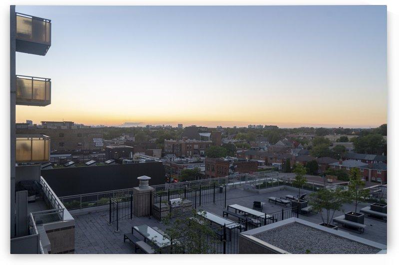 Toronto Skyline at Sunset by Bob Corson