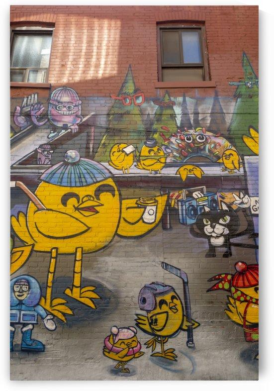 Torontos Graffiti Alley  46 by Bob Corson