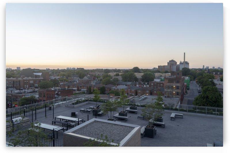 Toronto Skyline at Sunset 2 by Bob Corson