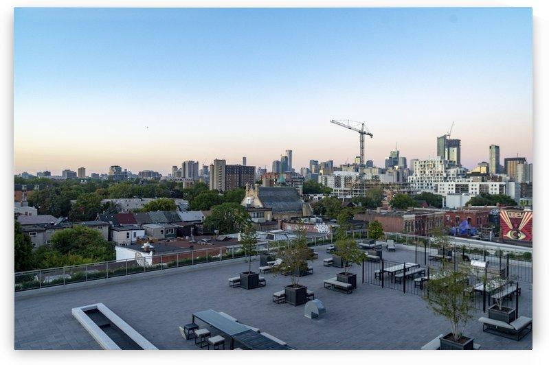 Toronto Skyline at Sunset 4 by Bob Corson