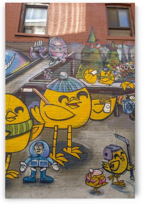 Torontos Graffiti Alley  45 by Bob Corson