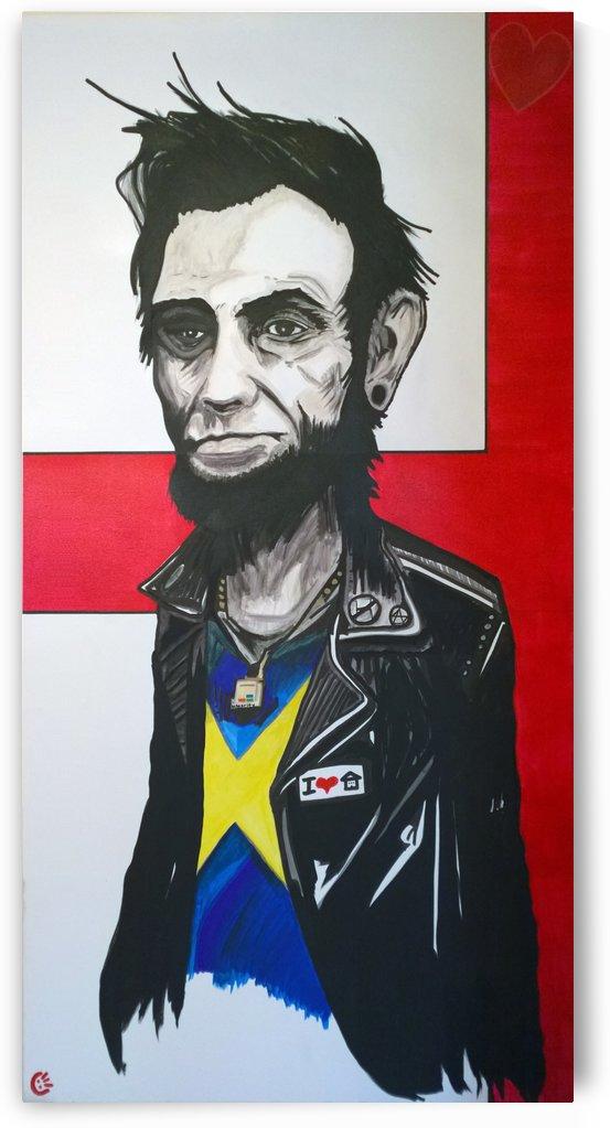 Millennial Not-So-Honest Abe by Manny Berrios
