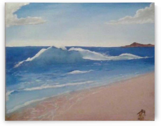 Ocean Serenity by David Bernstein