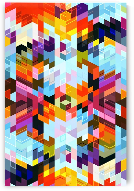 VIVID PATTERN VI by Art Design Works