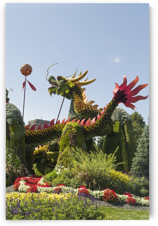 From Beijing:  Blessing of the Good Omen Dragons 3 by Bob Corson