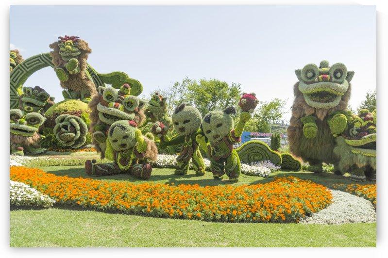 From Shanghai: Joyful Celebration of the Nine Lions 6 by Bob Corson