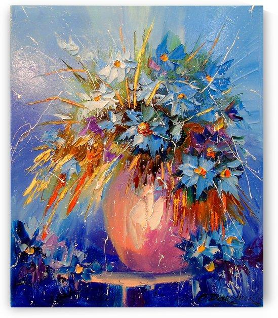 Cornflowers by Olha Darchuk